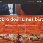 Letibo portfolio - Template za restorane