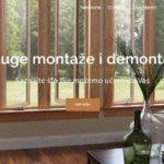 Letibo template - usluge montaže i demontaže